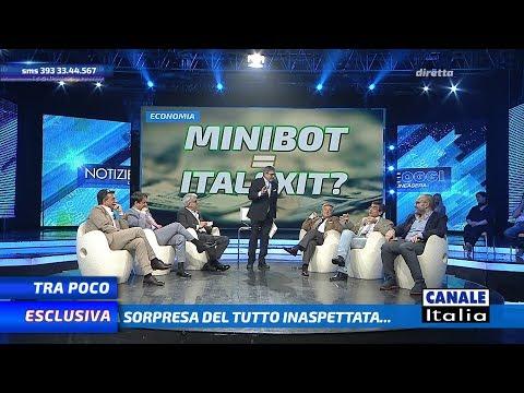 'Economia: MINIBOT=ITALEXIT ?' | Notizie Oggi Lineasera