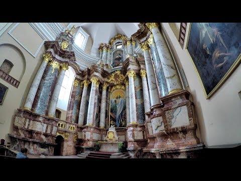 Vilnius, Lithuania. The Baroque Church of St. Casimir