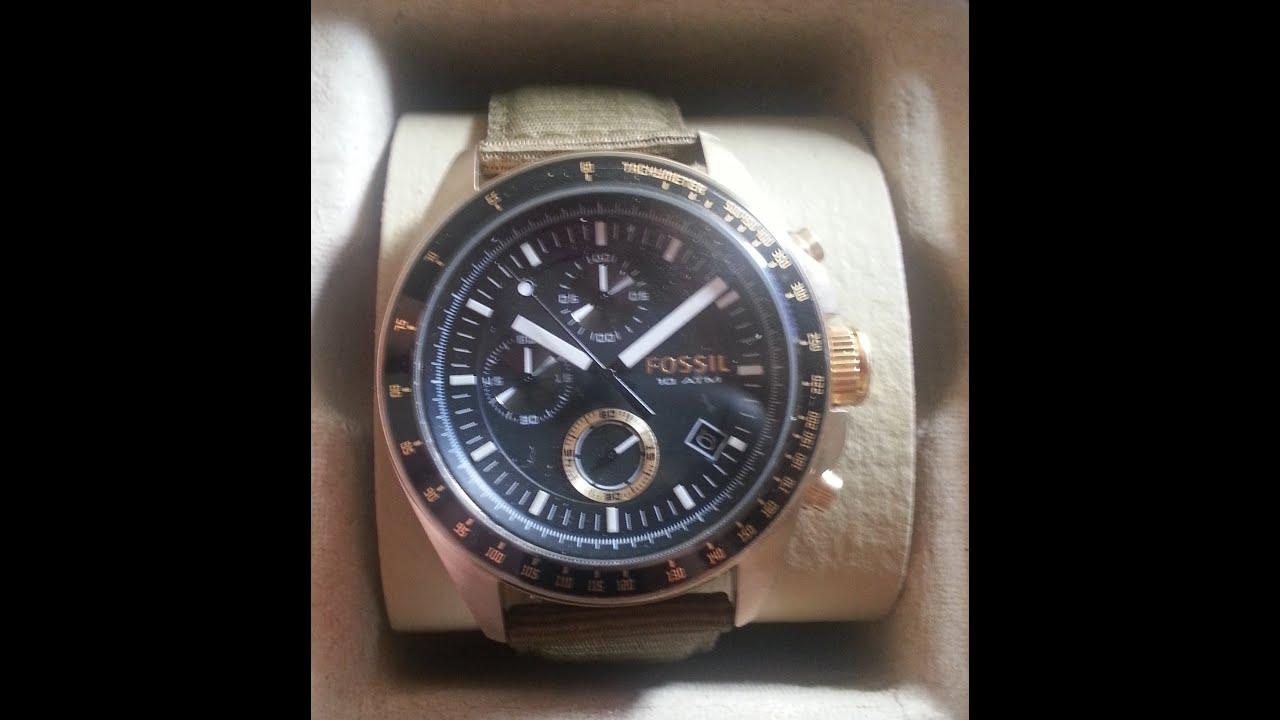 76f511c7b590 Reloj Fossil - YouTube