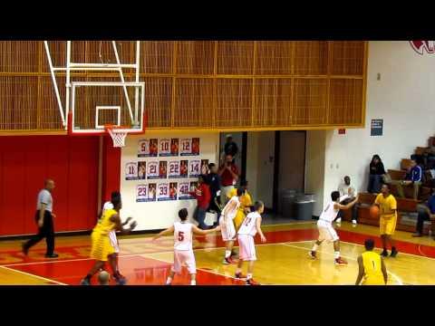 2-8-13 Tomball High School vs Thurgood Marshall High School  Video 2