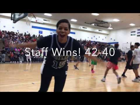 Student Vs Staff Basketball Game Westlane Middle School