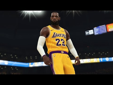 NBA 2K19 Another LeBron James Screenshot! Team 2K