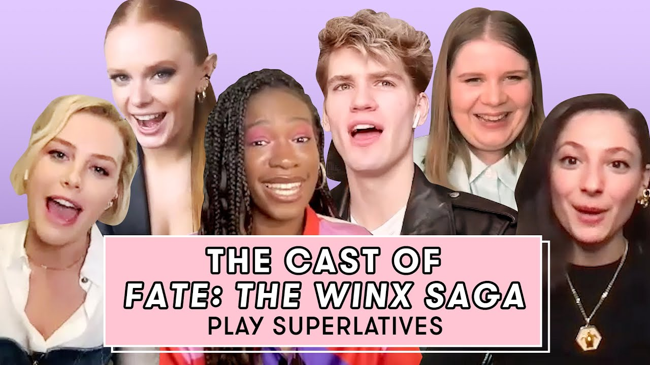 Download The Cast of Fate: The Winx Saga Talk Bloom's Eyebrows And Flirting | Superlatives | Seventeen
