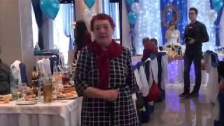Супер бабушка на свадьбе сразила всех!!!