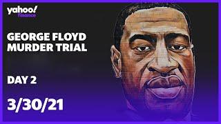 #georgefloyd #georgefloydmurdertrial #derekchauvingeorge floyd murder trial continues for derek chauvin former police officer accused in his death.subscribe ...