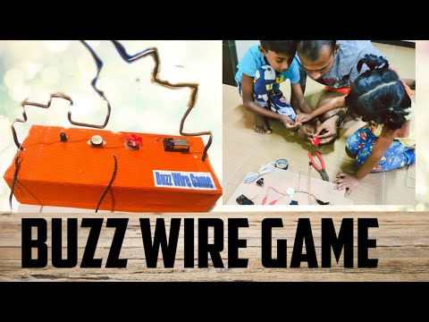 Buzz Wire Game | Kids Activity | |Science Home Project | Hand Grip