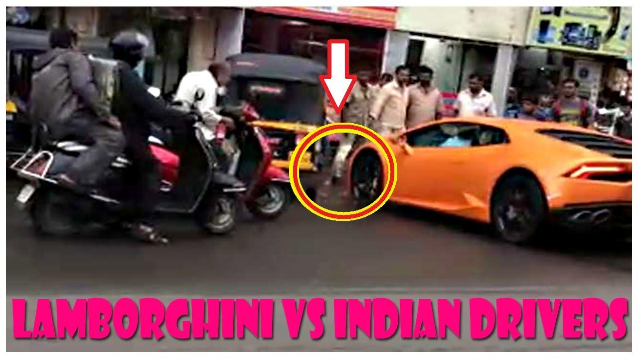 Lamborghini Accidents India Supercar Accidents India