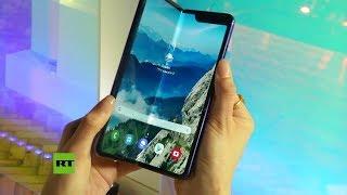 Samsung presenta el smartphone plegable Galaxy Fold