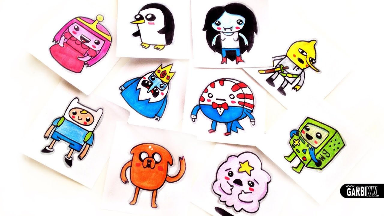 How to draw an Adventure Time