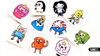 How To Draw Adventure Time by Garbi KW