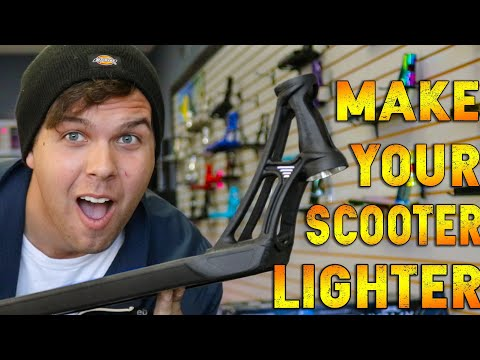 HOW TO MAKE YOUR CUSTOM SCOOTER LIGHTER!