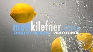 Matt Kilefner -- Video Editing Reel