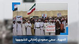 لجنة الاعتصام تتهم السعودية والإمارات بالسعي لتشويه محافظة المهرة عبر ورقة القاعدة | نشرة آخر اليوم