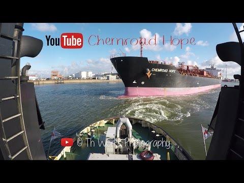 Tanker needs tugboat assist