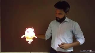Tasolglobal.com   3D Hologram/Holographic  Fan Led - Part 2