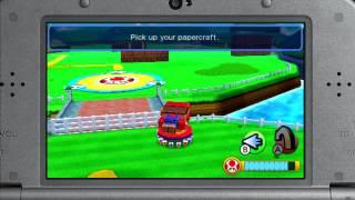Mario & Luigi: Paper Jam - Papercraft Boss Fight (Direct Feed - E3 2015)