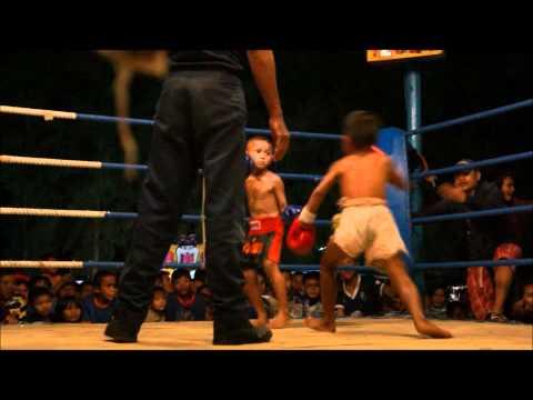 Lekla Sit Songsompong vs. Kaichon Simpayam, Children's Muay Thai, 18 kg / 39.6 lb, Buriram