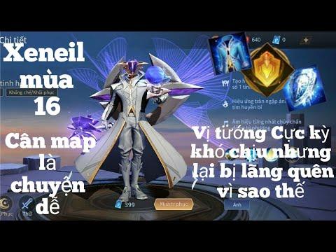 Xeniel mùa 16:Sức mạnh đáng sợ của sứ giá thần thánh nhưng bị lãng quên Liên quân mobile