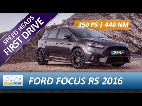 2016 Ford Focus RS Test (350 PS) - Fahrbericht - Review (German + English subtitles)