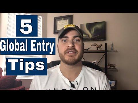 5 (Quick) Global Entry Enrollment Tips