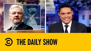 Assange's Embarrassing Arrest | The Daily Show with Trevor Noah