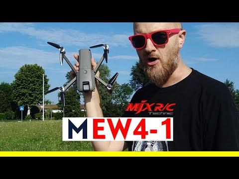 MJX RC MEW4-1 Drone brushless pieghevole con GPS e camera 2K orientabile di 180° - Recensione