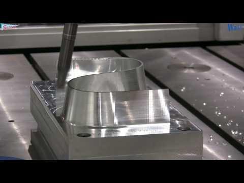 CNC CAD/CAM Gia công 5 trục S-Curve -Zimmermann