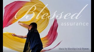 Worship Flags dance | Blessed Assurance by Worship Circle Hymns ft Claire CALLED to Flag