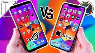 Asus ROG Phone 3 vs iPhone 11 Pro Max Speed Test