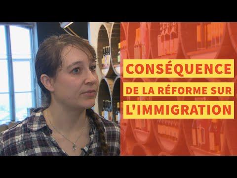 Conséquence de la réforme sur l'immigration