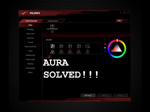 Asus Aura Lighting Not Working Won T Launch Fix For Strix Boards Read Description First