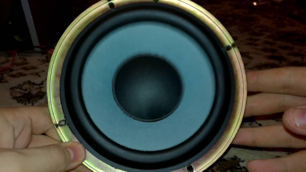Panasonic Subwoofer Free Air Test, 100 Watt, 8 ohm - YouTube