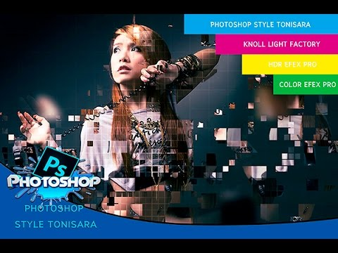 Review Pixelated Photoshop Action By Tonisara 4 [Photoshop CC Tutorial]