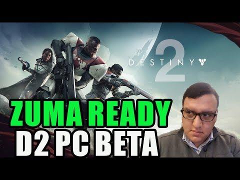 Destiny 2 PC Beta [2K 144Hz] powered by Google Fiber!
