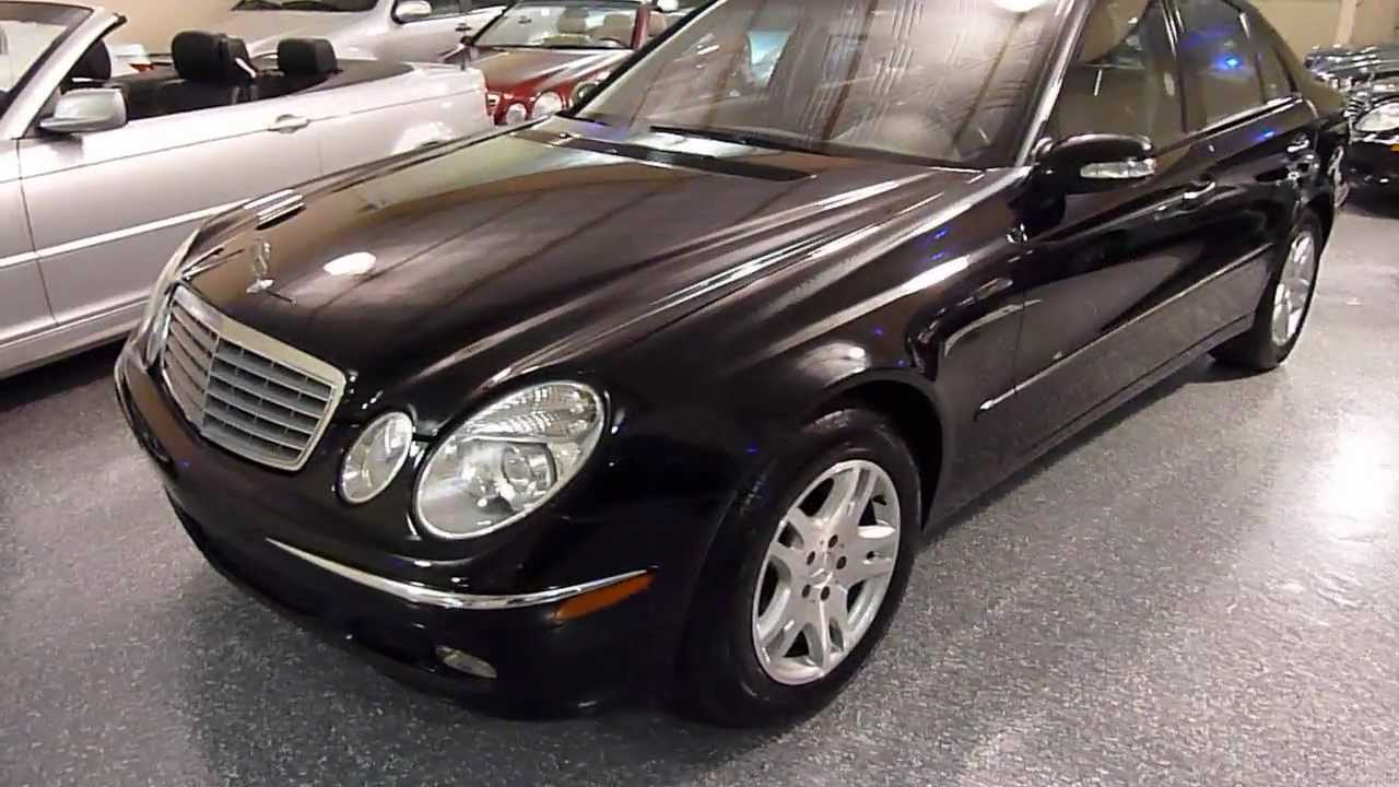 2003 mercedes benz e320 4dr sedan 3 2l 2143 sold. Black Bedroom Furniture Sets. Home Design Ideas
