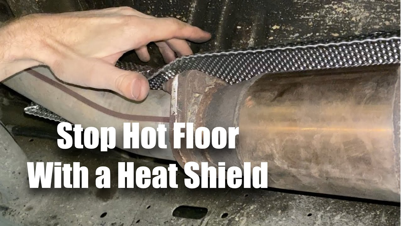 how to form and make a heat shield