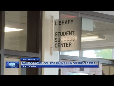 Pamlico Community College ranks No.1 in NC for Online Community College