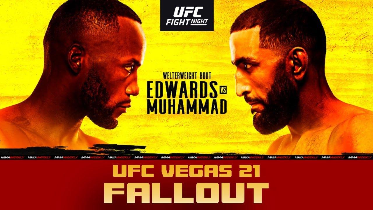 Ufc Fight Night 187 Fallout Edwards Vs Muhammad Youtube