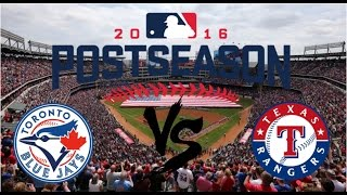 2016 ALDS Series Highlights | Blue Jays vs Rangers