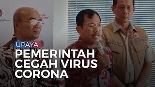Cegah Virus Corona, Menkes: 135 Pintu Masuk Negara Indonesia Telah Dijaga 24 Jam