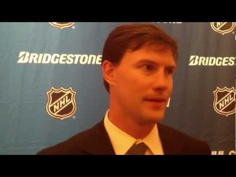 2012 NHL Awards - Shane Doan - NHL Leadership Award Press Conference