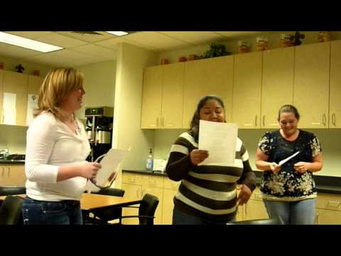 2011 ESM Karaoke Caroling -- Team Allen School Remix