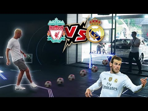 THE CHAMPIONS LEAGUE FINAL FOOTBALL CHALLENGES