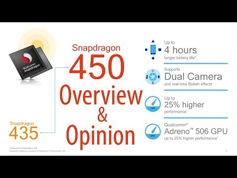 Qualcomm Snapdragon 450 A Big Leap for Budget Smartphones
