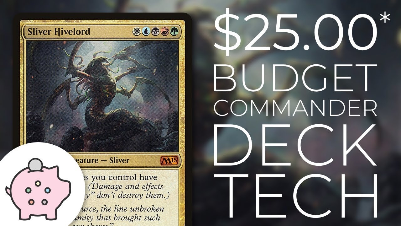 Sliver Hivelord | EDH Budget Deck Tech $25 | Tribal | Magic the Gathering |  Commander