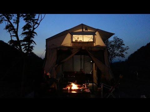 DJI INSPIRE1 가족여행 - 가평 라벤트리 글램핑