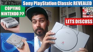 Sony PlayStation Classic REVEALED   Lets Discuss   N64 Mini?   Worth it?