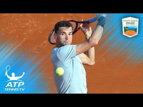 Dimitrov, Thiem Survive; Pouille Stunned | Monte-Carlo 2018 Highlights Day 3