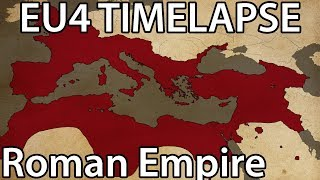 EU4 Timelapse - For the Glory of Rome (Imperium Universalis mod)