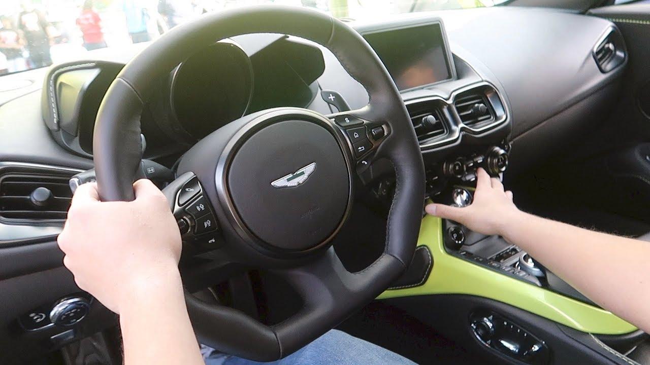 Inside The New 2018 Aston Martin Vantage Youtube